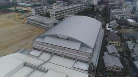 熊本高校28年地震災害復旧(屋内運動場屋根等)工事他合併(JV)